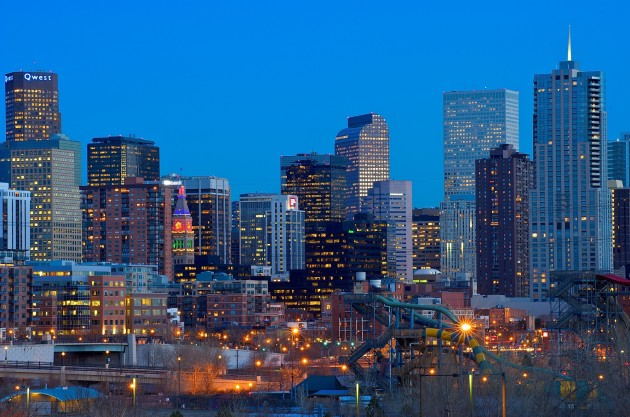 denver skyline, great place to invest in real estate