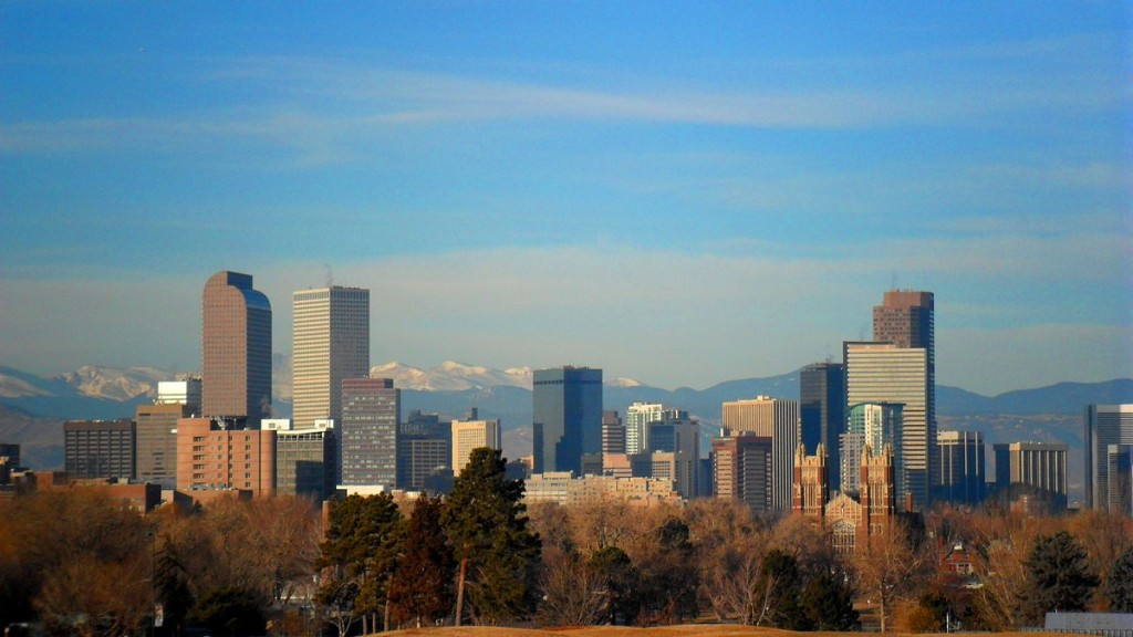 Denver is one of the best cities in the USA to invest in real estate ... photo by CC user Hogs555 on wikimedia